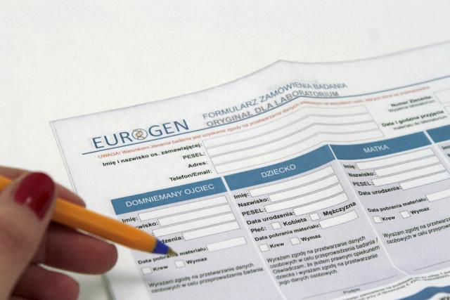formularz zamówienia badania ojcostwa