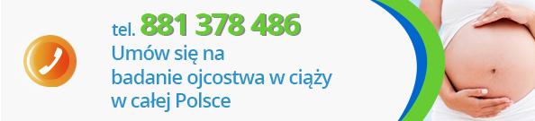 Badanie ojcostwa w ciąży Gdańsk